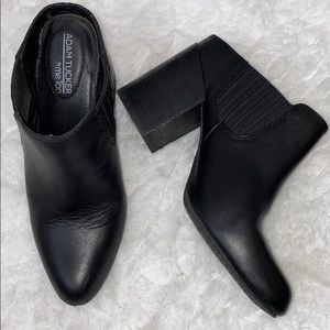 Adam tucker by me too leather zinc mules 8.5